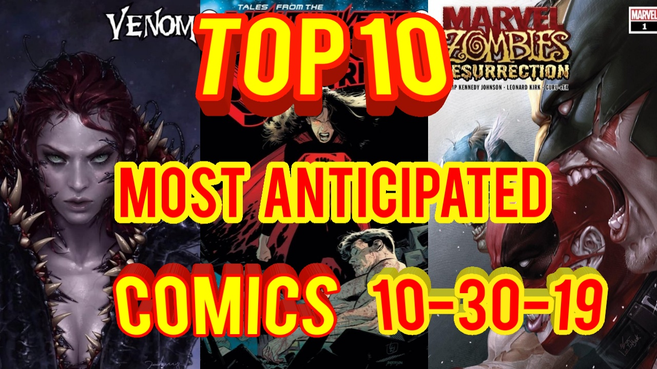 most anticipated comic books