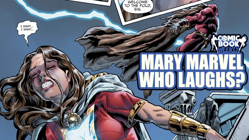 Mary Marvel Who Laughs