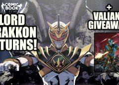Lord Drakkon Returns in MMPR 50! + Valiant Comics Giveaway! | Comic Book Weekly