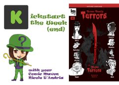 Kickstart the Week(end) with Turner Family Terrors 1: Horror/Comedy/Adventure Comic