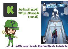 Kickstart the Week(end) with Celestial Falcon #1-2: Supernatural Warfare, Superhero Style