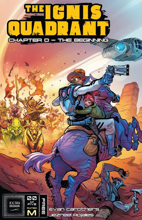 The Ignis Quadrant #0 Cover