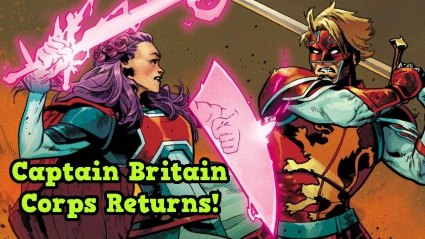 Captain Britain Corps