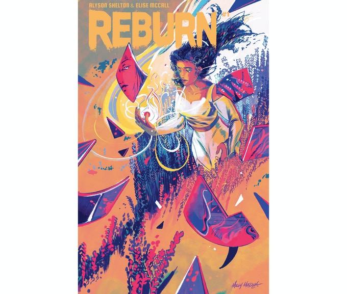 REBURN variant cover by Molly Mendoza