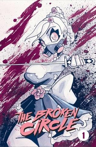 Spores: The Broken Circle Cover C - Dan Mendoza