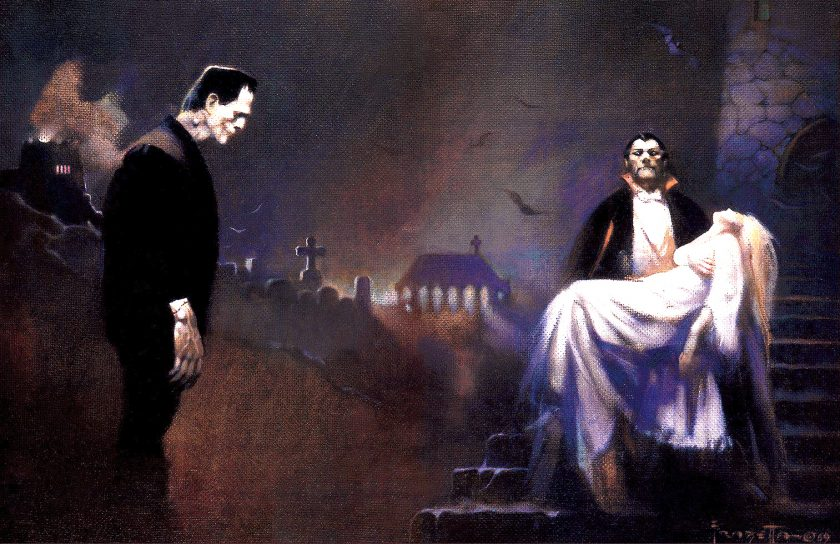 Creatures of the Night-Frazetta