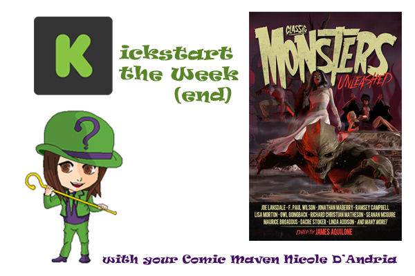 Kickstart the Week Classic Monsters Unleashed