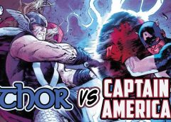 Thor Vs. Captain America | Comic Book Weekly