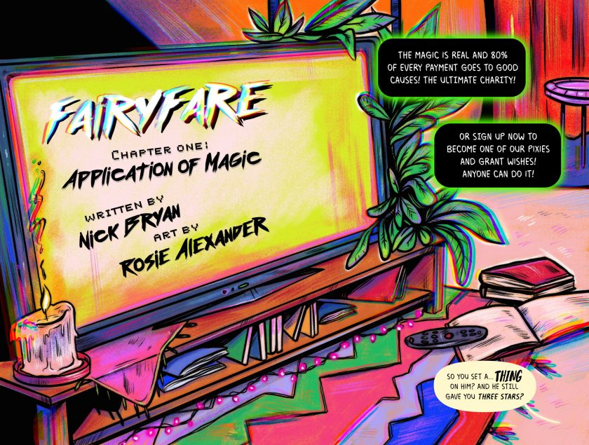FairyFare #1 Page 4-5