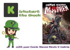 Kickstart the Week with Zombie Deathball Mayhem #1 Horror Comic Book Mini-series