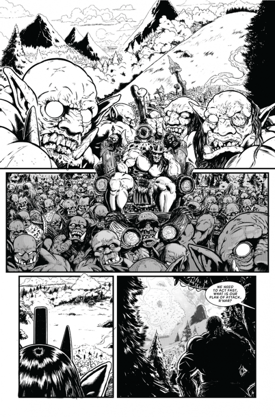 Savage Wizard #1 Preview Page 1
