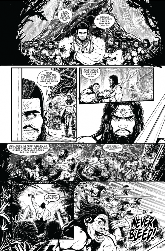 Savage Wizard #1 Preview Page 2
