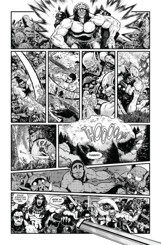 Savage Wizard #1 Preview Page 3