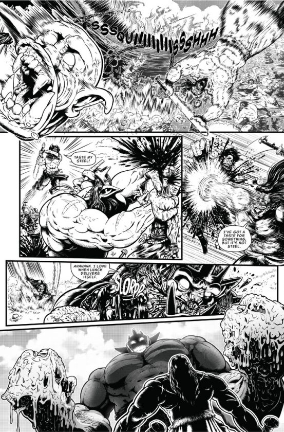 Savage Wizard #1 Preview Page 4