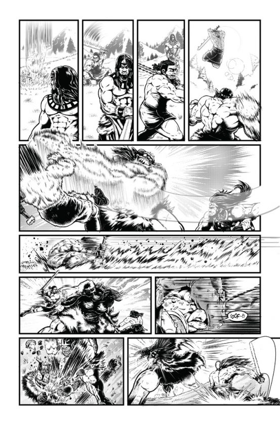 Savage Wizard #1 Preview Page 5